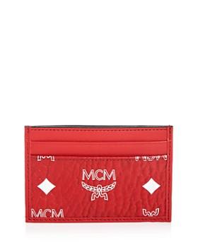 MCM - Visetos Logo Mini Card Case