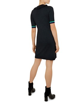 Ted Baker - Colour By Numbers Sabie Metallic Knit Dress