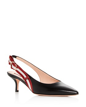 34b43c5167b Bally - Women s Alice Slingback Pointed-Toe Pumps ...