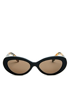 Burberry - Women's Oval Sunglasses, 54mm