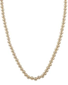 "Ralph Lauren - Beaded Toggle Necklace, 17"""