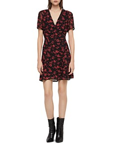 ALLSAINTS - Luca Eira Floral Print Dress