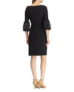 Ralph Lauren - Lace-Sleeve Jersey Dress