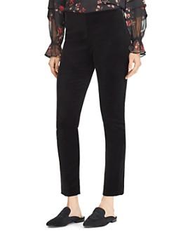 Ralph Lauren - Velvet Skinny Pants