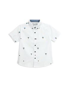Sovereign Code - Boys' Cotton UFO-Print Shirt - Little Kid