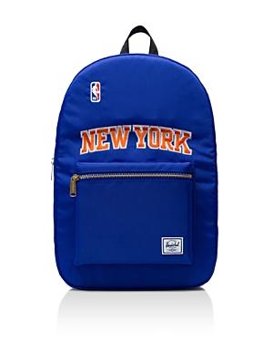 93a27ca6664 Herschel Supply Co. Nba Superfan Herschel Settlement Backpack In Knicks Blue