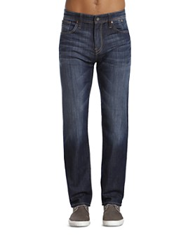 Mavi - Zach Straight Fit Jeans in Dark Maui