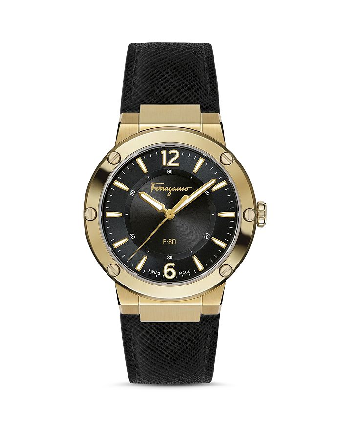 SALVATORE FERRAGAMO F-80 WATCH, 34MM