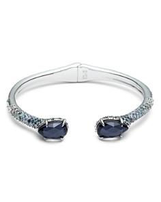Alexis Bittar - Crystal Encrusted Ombre Hinge Bracelet