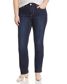 Seven7 Jeans Plus - Micro Bootcut Jeans in Alias
