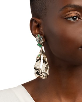 Alexis Bittar - Dangling Clip-On Earrings