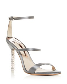 Sophia Webster - Women's Rosalind Crystal Satin High-Heel Sandals