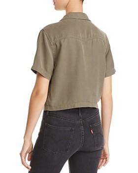 Hudson - Cropped Western Shirt