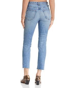 rag & bone/JEAN - Raw-Edge Ankle Cigarette Jeans in Farrah