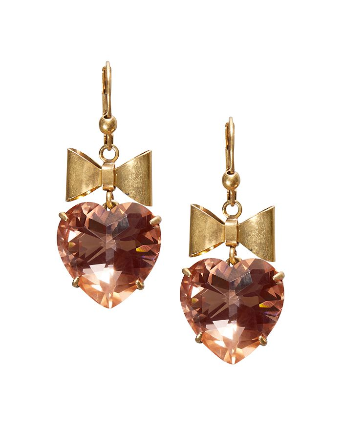 8ec794537 Tory Burch - Bow   Heart Drop Earrings