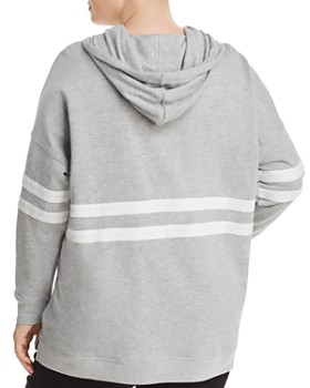 Marc New York Plus - Stripe Trim Hoodie