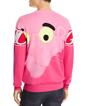 Iceberg - Color-Block Pink Panther Logo Sweater