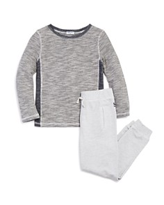 Splendid - Boys' Striped Tee & Jogger Pants Set - Little Kid