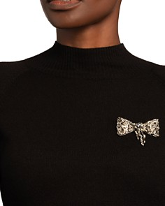 Alexis Bittar - Scattered Crystal Baguette Bow Pin