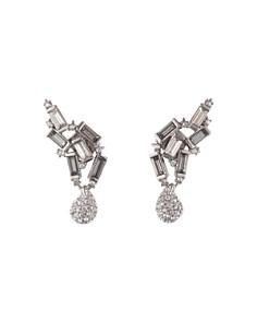 Alexis Bittar - Climbing Crystal Earrings