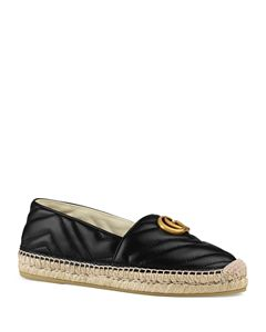 065201c0b7a Gucci Women s Pilar Leather Espadrille Flats