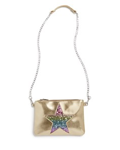 GiGi - Girls' Glitter-Star Convertible Clutch Bag - 100% Exclusive