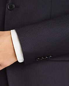 John Varvatos Star USA - Tonal Pinstriped Wool Slim Fit Suit Separates