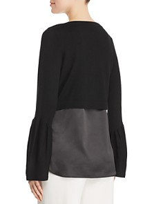Elie Tahari - Ebba Layered Sweater