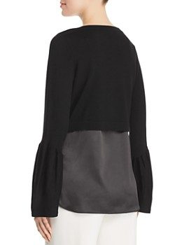Elie Tahari - Ebba Layered Sweater