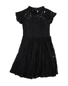 Bardot Junior - Girls' Katanna Lace Flutter-Sleeve Dress - Little Kid