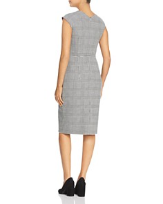 BOSS - Dechesta Glen Plaid Sheath Dress
