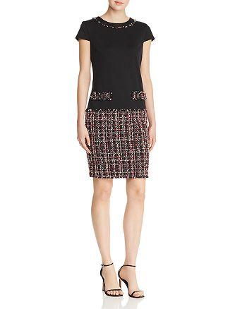 KARL LAGERFELD Paris - Ponte Tweed Dress
