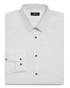 Theory - Dash-Print Slim Fit Dress Shirt