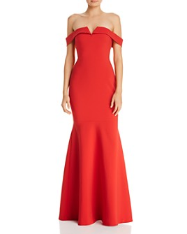 LIKELY - Misisco Off-the-Shoulder Gown