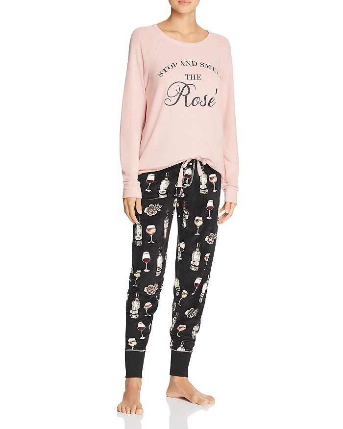 PJ Salvage - Stop and Smell the Rosé Top & Pants