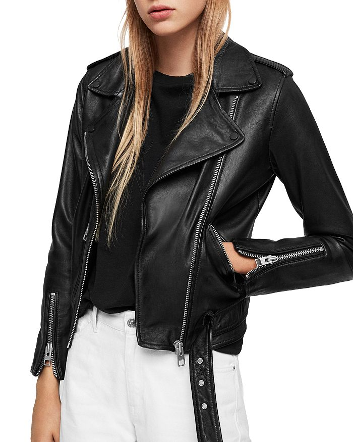 ALLSAINTS - Balfern Leather Biker Jacket