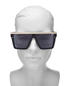 Quay - Women's Hindsight Shield Sunglasses, 56mm