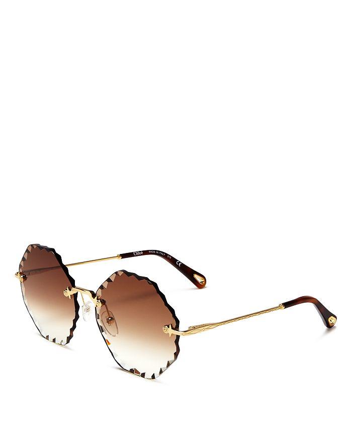 011a0820 Women's Rosie Octagonal Sunglasses, 58mm