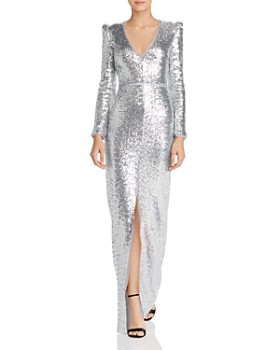 Rachel Zoe - Sue Sequin V-Neck Gown - 100% Exclusive