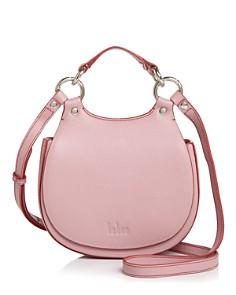 Behno - Tilda Mini Leather Crossbody Saddle Bag