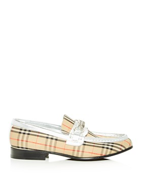 Burberry - Women's Moorley Apron Toe Loafers