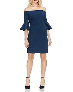 VINCE CAMUTO - Off-the-Shoulder Bell-Sleeve Dress