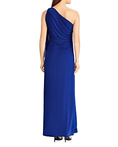Ralph Lauren - Georgette One-Shoulder Gown