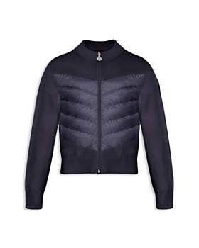 Moncler - Boys' Contrast Knit Quilted Jacket - Little Kid