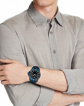Movado - Series 800 Blue Watch, 40mm