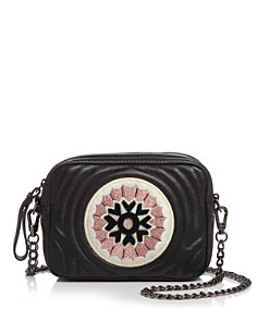Longchamp - Hypnotic Rosace Leather Crossbody