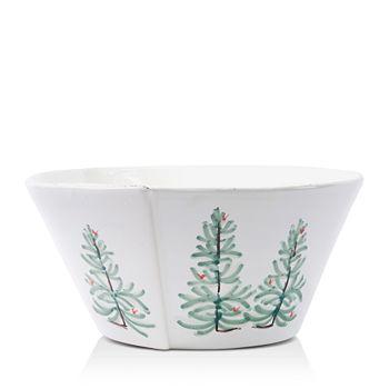 VIETRI - Lastra Holiday Large Stacking Serving Bowl