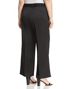 VINCE CAMUTO Plus - Satin Wide Leg Pants