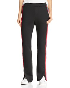 PAM & GELA - Rainbow-Stripe Track Pants