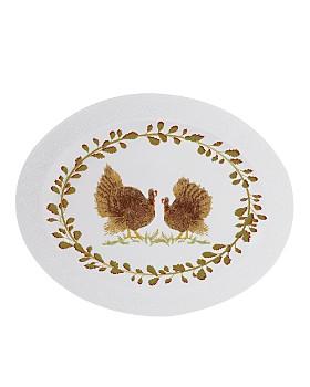 Bernardaud - Louvre Thanksgiving Oval Platter